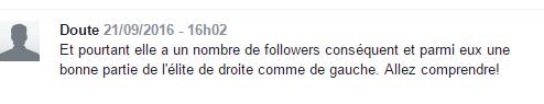 Christine Boutin et Chirac, commentaire
